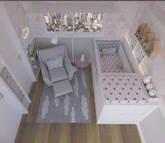 O Quartinho do Bebê ~ Projeto @uebaa_design #oquartinhodobebe