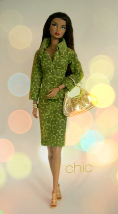 Suit by Chic Barbie Designs for sale in Sept. 2013