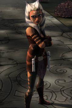 ahsoka tano ashley eckstein | Ahsoka Tano (voiced by Ashley Eckstein) is a padawan of Anakin ...