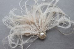 Great Gatsby party hair accessory, soooo easy to make!