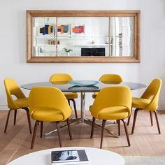 Hello yellow. {#interiordesign by @krestadesign, by Adriana Merlo, via @ad_spain}