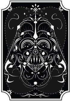 Darth Vader on Acid  by Michael Tesch