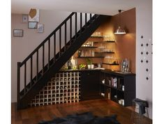 1000 images about entree et escalier on pinterest - Amenagement sous escalier leroy merlin ...