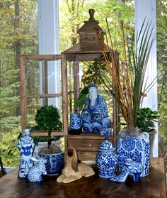 Blue and white love contest round 2! - The Enchanted Home