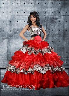 Ball Gown Strapless Neckline Floor length Sleeveless Organza Quinceanera Dress (SAS453) [SAS453] - US : Prom Dresses and Quinceanera Dresses - Iprom Dress Store, Iprom Dress Store