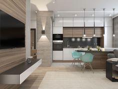 Modern Home Decor Kitchen Custom Kitchens, Kitchen Layout Plans, Home Kitchens, Kitchen Remodel, Modern Kitchen, Home Decor Kitchen, Kitchen Room Design, Kitchen Interior, Interior Design Kitchen