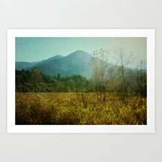 #country drive Art #Print by Sylvia Cook Photography - $21.00 #landscape