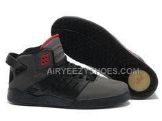 b7cd06d724c7 Supra Skytop III Black Grey Red Men s Shoes
