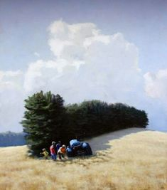 Nostalgia, Paintings I Love, Mountains, Landscape, Nature, Travel, Outdoor, Shadows, Art