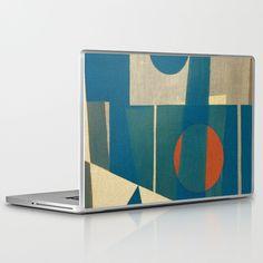 Sailing in Dark Night Laptop & iPad Skin