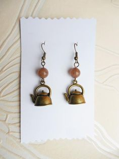 lovely dangle earrings made by  Lungu Georgiana from LC.Pandahall.com
