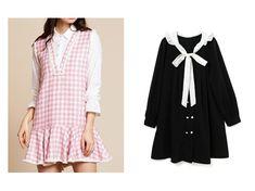 f0fcdc8e68367 ワンピース・ドレスのおすすめ!人気、春夏ファッションの通販  sister jane シスタージェーン のYes Darling Tweed  Dress  BUBBLES バブルス のバイカラーフリル ...
