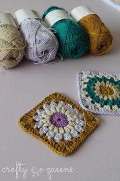 Scheepjes Linen Soft Sunburst Squares - Crafty Queens