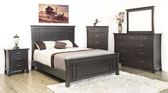 Canadian Made Quality Solid Pine by Mako IN-STOCK Bedroom Suite Includes: Full Bed (Headboard, Footboard, Rails)Available in Twin, Dble, Q or K. Full Bed Headboard, Headboards For Beds, Your Perfect, Solid Pine, Your Style, Drawers, Furniture, Chelsea, Bedrooms