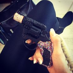 because a blinged out pistol is the only way to defend yourself