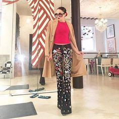 Note to self: in case of @NYFW, put on your glam pants for an instant power up...even on less than 4 hours of sleep!
