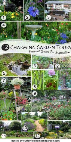 My Garden Tour 2013 via OrganizedClutter.net