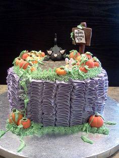 halloween birthday cakes | Lindy's Bayside Confections: Halloween Birthday Cake