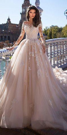 121 illusion long sleeve wedding dresses you'll like -page 19 > Homemytri.Com 121 illusion long sleeve wedding dresses you'll like -page 19 > Homemytri. Top Wedding Dresses, Bridal Dresses, Wedding Gowns, Lace Wedding, Trendy Wedding, Mermaid Wedding, Wedding Beach, Modest Wedding, Party Wedding