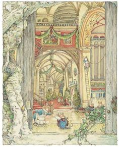 Christmas, Jill Barklem - Brambly Hedge