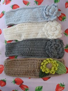 Flower Headband Crochet