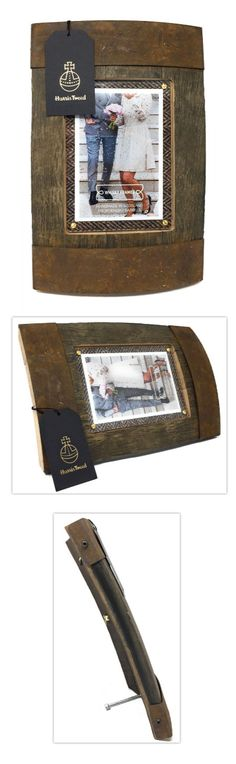 Handmade photoframe made from Scottish whisky barrel and Harris tweed Harris Tweed, Scotch Whisky, Natural World, Barrel, Scotland, Recycling, Unique, Frame, Gifts