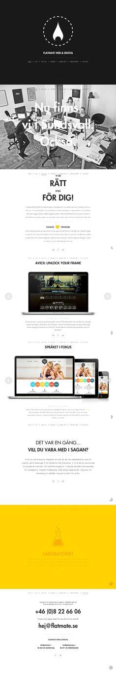 #Web Flatmate Web & Digital