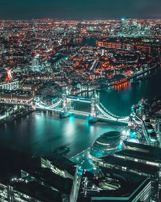 Amazing destinations to travel London England London Night, London City, London Skyline, London Bridge, England, London Pictures, City Aesthetic, Night City, City Photography
