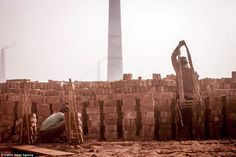 Each year it is estimated that the two million labourers carry more than 15 billion bricks...