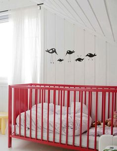 Painting an ikea crib opens every door.