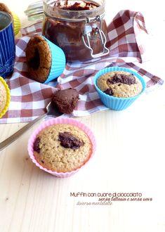 muffin con cioccolato #lactosefree