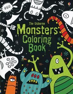 Monsters Coloring Book.  Break out the markers, colored pencils, and crayons!  This book has coloring, drawing, doodling, and writing activities.  Fun!