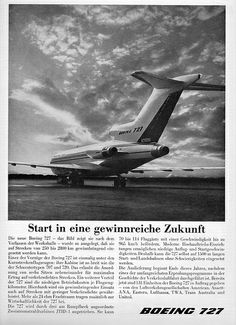 Boeing 727 N7001U March 1963 Boeing 727, Boeing Aircraft, Aviation, Explore, Airplanes, Classic, German, March, Birds