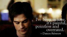 Love his sarcasm as #damon