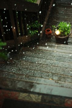 Rain rain do NOT go away...