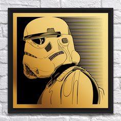 Image of Stormtrooper (Laser-Engraving)