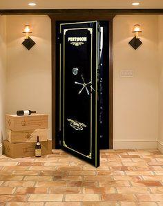 Vault Doors, Gun Vaults, Armory Vault Doors and Hurricane Doors by Sportsman Steel Safe Company