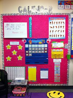 Classroom set up... get some ideas from MOORE fun in Kindergarten!