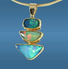 opal necklace - Gems of LaCosta