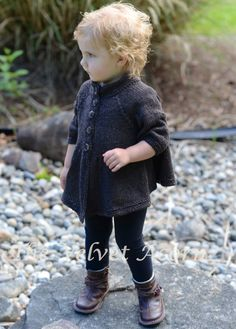 TRICOT PATTERN-The Bobo Cardigan (2/3, 4/5, 6/7, 8/9/10/11 ans)