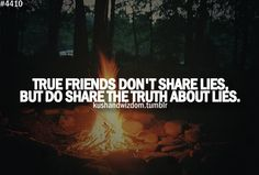Real friends watch your back :) you know who you are....love my friends...