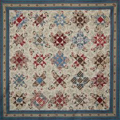 Nine Patch Stars pour Petra Prins; the background fabric makes this quilt… Old Quilts, Antique Quilts, Star Quilts, Scrappy Quilts, Vintage Quilts, Patch Quilt, Quilt Blocks, Petra Prins, Make Do