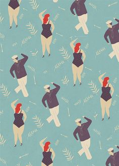 Let's Dance! Great Illustrated Wrapping Paper by Naomi Wilkinson