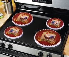 Collections Etc. Find Unique Online Gifts At CollectionsEtc.com. Stove Top  BurnersStove Burner CoversRooster Kitchen ...