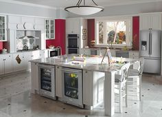 To achieve this I would need to convert my kitchen, lounge and dining all to kitchen!   Still I can always dream.