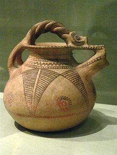 Spouted Jar Western Iran Iron Age 1000 to 650 BCE