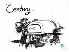 New norton motorcycle vintage art Ideas Norton Motorcycle, Motorcycle Posters, Motorcycle Art, Motorcycle Design, Bike Art, Vintage Cafe Racer, Norton Cafe Racer, Bike Sketch, Sketch Art