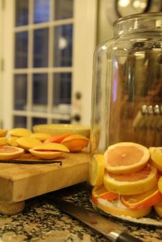 Citrus Liqueurs, Mrs. Wheelbarrow's Kitchen - Will I make it before citrus season is gone? Just my kind of procrastination project.