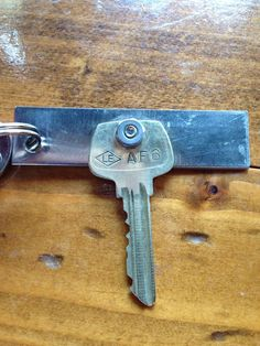 Adapted key pinner made for her grandma because of weak grasp and pronation, supination strength.