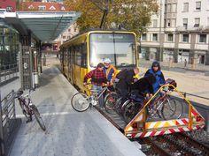 Cidade alemã tem vagões externos exclusivos para bikes